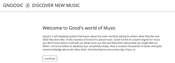 Gnoosic.com is a music recommendation engine. Enter 3 bands you like to get suggestions.