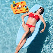 Sol Swimming Pool Float by Texas Recreation