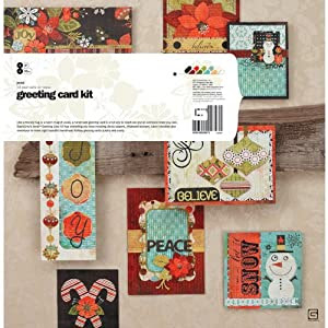 Jovial Card Kit-Makes 8 Cards With Envelopes