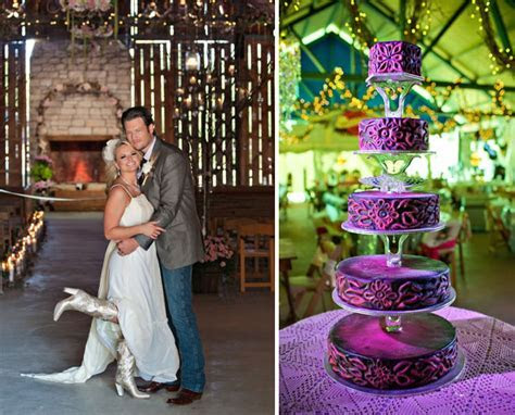 Miranda Lambert and Blake Shelton Wedding photos