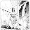 Frankensteins Monster Book Illustration