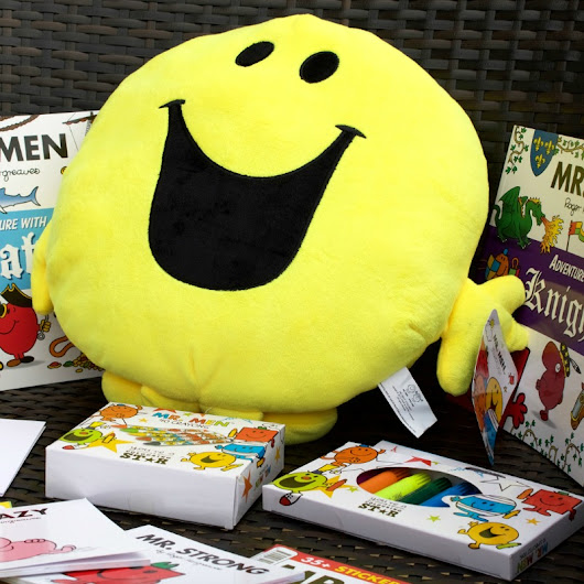 Sharing my love of Mr Men & Little Miss with my children - U me and the kids