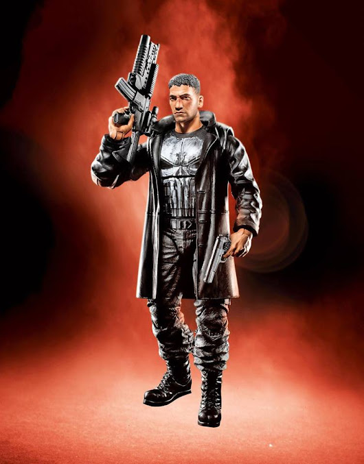 Coming Soon: Jon Bernthal's Punisher Figure from Hasbro - The Punisher Harp Zone