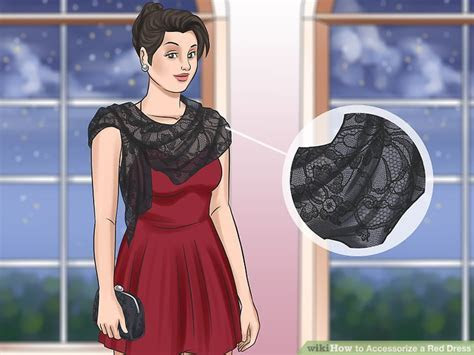 4 Ways to Accessorize a Red Dress   wikiHow