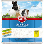 Kaytee Clean and Cozy Small Pet Bedding - 250 cu in - White