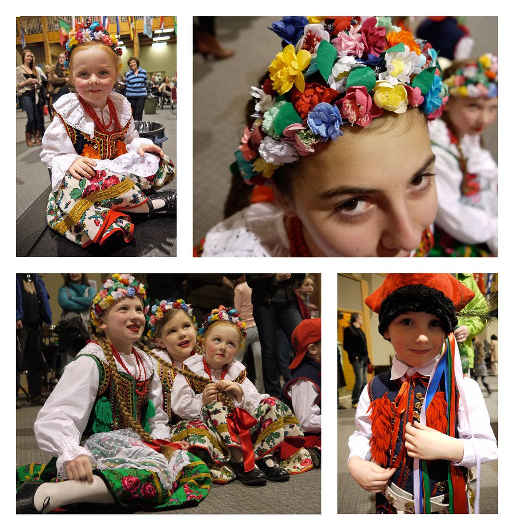 2012.04.02, The Polish dancers had such beautiful costumes. Plus, these kids were so cute!