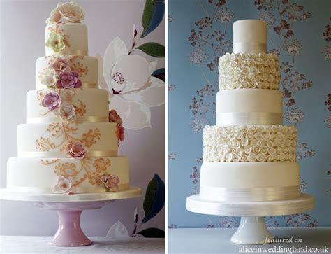 Let them eat cake: unique wedding cakes   Alice In