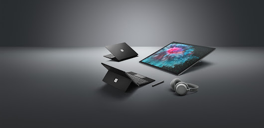 Meet Surface Pro 6, Surface Laptop 2, Surface Studio 2 and Surface Headphones - Microsoft Devices Blog