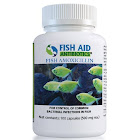Fish Aid Antibiotics Amoxicillin 100 Capsules, 500 mg