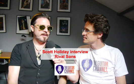 The Fuzz lord himself in interview: @Scott_Holiday from @RivalSons - The Guitar Channel