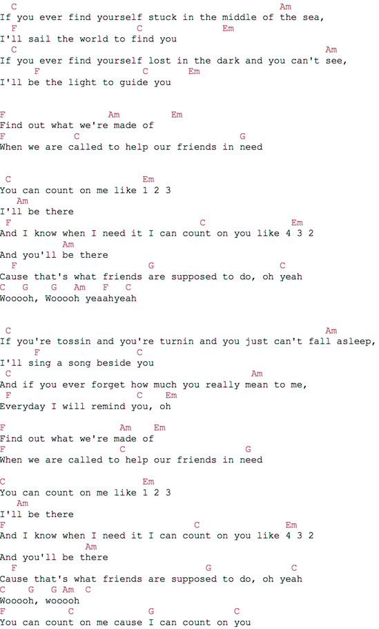 Lyrics Center Bruno Mars Count On Me Lyrics And Chords