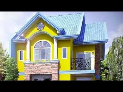 Simak contoh warna cat rumah minimalis nuansa terang ...