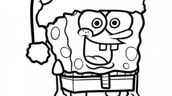 7800 Top Spongebob Summer Coloring Pages  Images