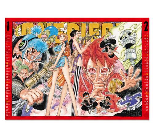 Cdjapan One Piece Shueisha Comic Calendar 2020 Shueisha Book