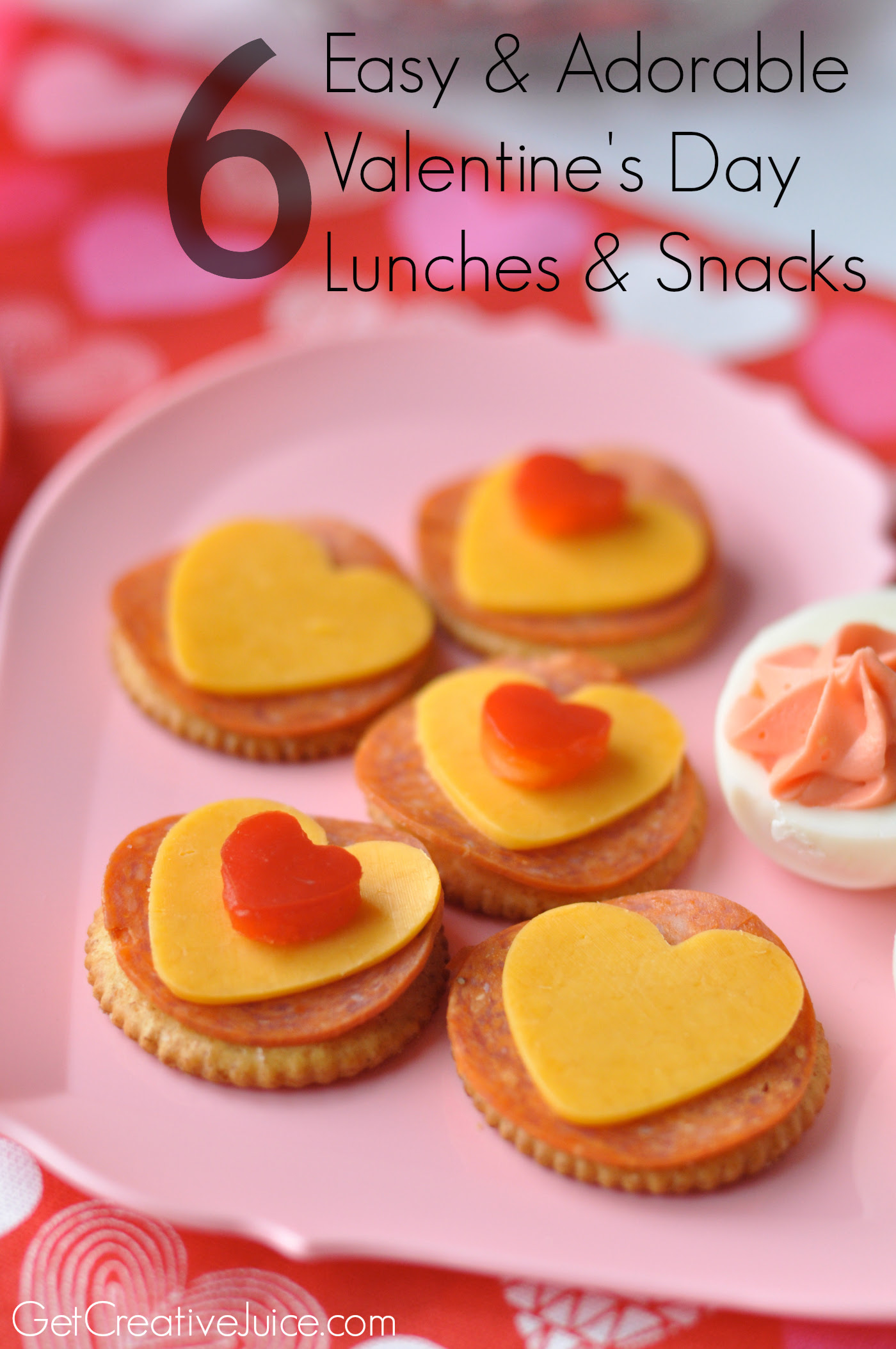 Valentine Lunch Ideas And Snack Ideas Creative Juice