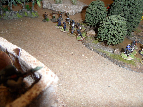 Massed attack on Outpost