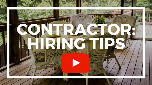 BHHS Select Properties - The Collins Team - Follow These Tips Before Hiring a Contractor