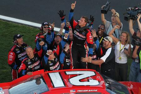 Trevor Bayne Wins First NASCAR