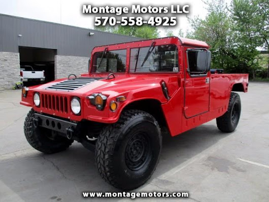 Used 1992 AM General Hummer Hard Top 2-Door for Sale in Scranton PA 18505 Montage Motors LLC