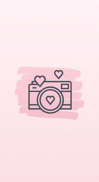 Aesthetic Instagram Logo Pastel Pink   aesthetic name