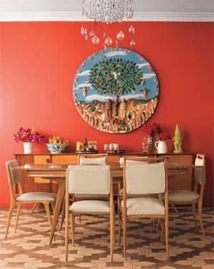 333227 parede vermelha Veja como usar vermelho na decoração