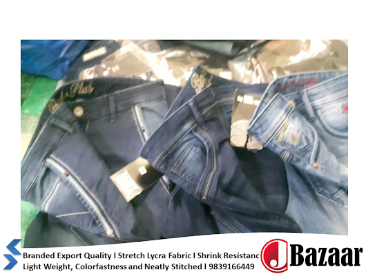 Leading Men's Denim Jeans Manufacturer