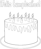 Birthday Coloring Pages, Printables