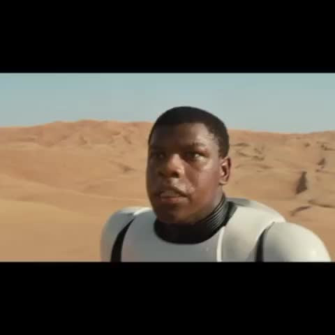 "The ""Star Wars - The Force Awakens"" trailers in 6 seconds..."