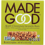Made Good Granola Bars, Apple Cinnamon - 5 count, 4.2 Ounce -PACK 6