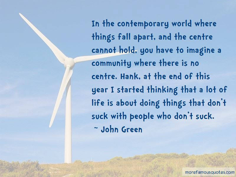 Quotes About Community In Things Fall Apart Top 1 Community In