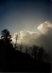 Thunderstorm cloud in Arizona