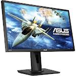 "Asus Vg245h 24"" Led Lcd Monitor - 16:9 - 1 Ms - 1920 X 1080 - 16.7 Million Colors - 250 Nit - 100,000,000:1 - Full Hd - Speakers - Hdmi - Vga - Black"