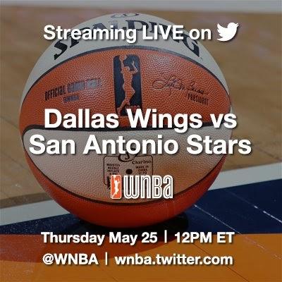 "Sieh Dir ""WNBA: Dallas at San Antonio"" live an! #WNBALive https://twitter.com/i/live/858018226579529728..."