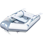 """Bestway Hydro-Force Caspian Pro Inflatable Boat, White/Grey, 91"""""""