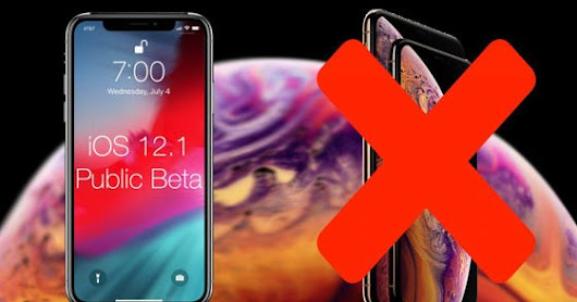 iOS 12.1 Public Beta 1: The iPhone XS Eve Edition