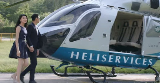 Uber's helicopter business may take flight soon