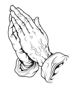 Hands Praying Drawing At Getdrawingscom Free For Personal Use