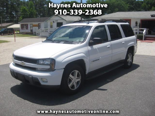 Used 2004 Chevrolet TrailBlazer EXT LT 4WD for Sale in Fayetteville NC 28303 Haynes Automotive