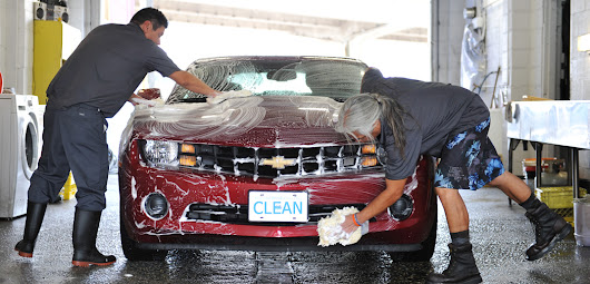 Who washes cars better, man or machine? - M & J Car Wash