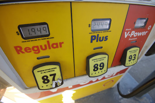 As gas prices collapse, high-octane fuel fetches unusually fat premium