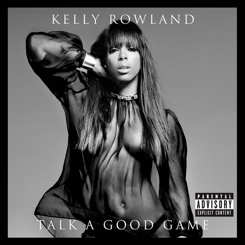 Kelly Rowland: Talk a good game, la portada de su nuevo disco