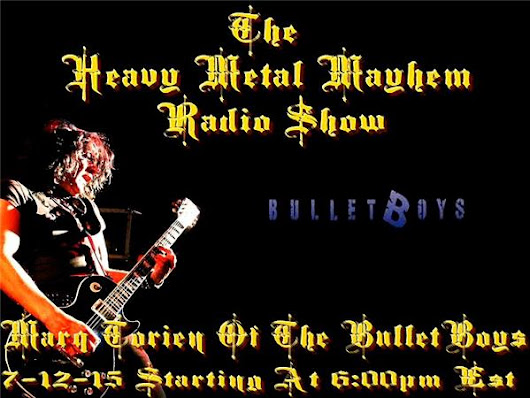 Guest Jeff Rolland Of Sacrilege,Marq Torien Of Bulletboys & Ruyter Suys Of NP