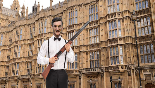 """Coup is the wrong word"" says shotgun-wielding Jacob Rees-Mogg"
