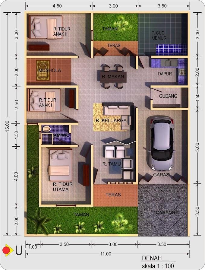 Desain Rumah Minimalis Ukuran 8x12   Ide Rumah Minimalis
