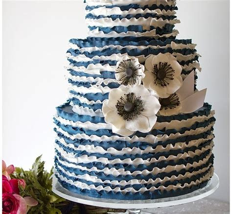 1000  images about navy, white and silver wedding cake on