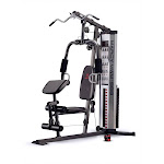 Marcy Home Gym System Weight Stack Machine, Gray/Black