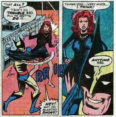 X-Men #98 panels