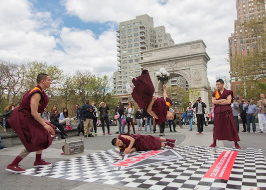 Breakdancing Buddhist Monks Pay Tribute to Late Beastie Boy Adam 'MCA' Yauch