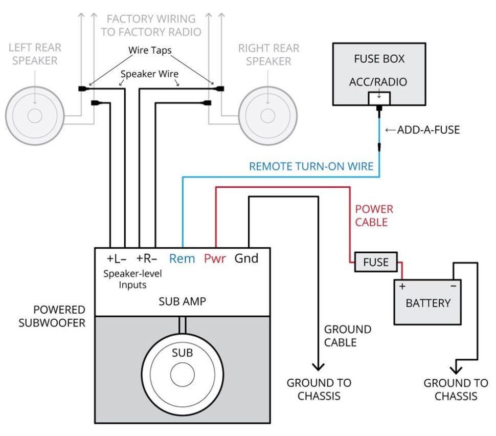 Pt250 Kicker Wiring Harnes