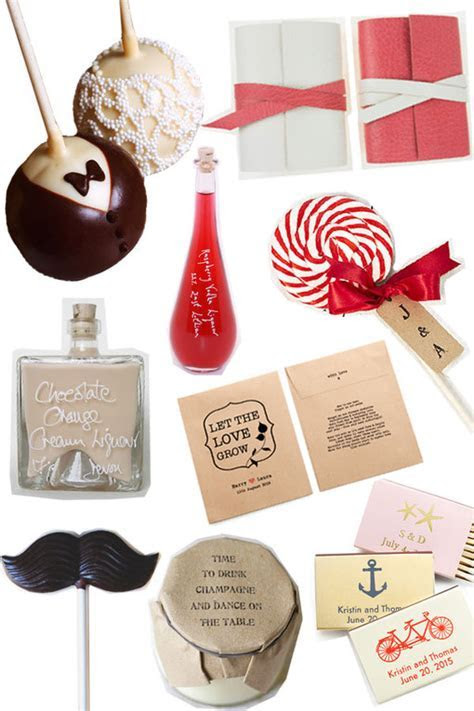 Wedding Favours Ideas For Your Special Day : Photo album